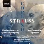Strauss: Duet Concertino, Prelude to Capriccio – Copland: Clarinet Concerto, Appalachian Spring