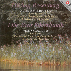 Rosenberg / Söderlundh: Violin Concertos