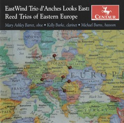 East Wind Trio d'Anches Looks East: Reed Trios of Eastern Europe
