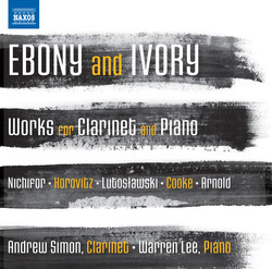 Ebony and Ivory - Works for Clarinet and Piano
