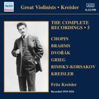 Kreisler: Complete Recordings, Vol. 5 (1919-1924)