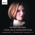 Harris & Adams: Violin Concertos
