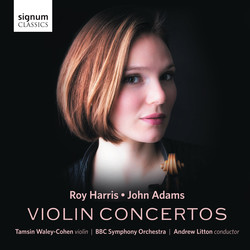 Harris & Adams: Violin Concertos