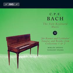 C.P.E.Bach – Solo Keyboard Music, Vol.32
