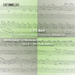 C.P.E. Bach - Keyboard Concertos, Vol.16