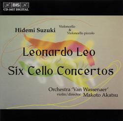 Leonardo Leo - Six Cello Concertos