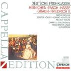 Heinichen, J.D.: Overture in G Major / Fasch, J.F.: Overture in G Major / Hasse, J.A.: La Gelosia / Graun, J.G.: Overture in D Minor