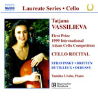 Cello Recital: Tatjana Vassiljeva