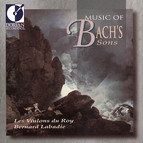 Bach, C.P.E.: Sinfonia, Wq. 179 / Bach, J.S.: Suite (Overture) No. 5 / Bach, J.C.F.: Sinfonia, W. 1/3