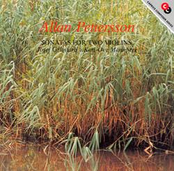 Pettersson: Sonatas for 2 Violins