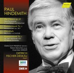 Hindemith: Der Dämon, Hérodiade, and Kammermusik Nos. 1 & 2 (Live)