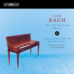 BACH, C.P.E.: Keyboard Music, Vol. 23 (Spanyi)