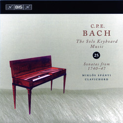 C.P.E. Bach - The Solo Keyboard Music 25