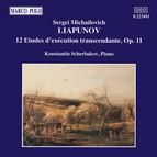 Lyapunov: 12 Etudes D'Execution Transcendante, Op. 11
