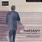 Harsányi: Complete Piano Works, Vol. 3
