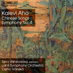 Aho - Chinese Songs and Symphony No.4