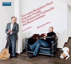 Platti & Vivaldi: 6 Sonatas for Cello & Basso Continuo