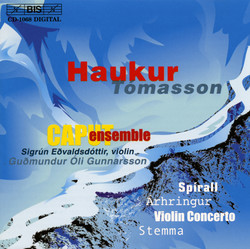 Haukur Tómasson - Concerto for Violin and Chamber Orchestra