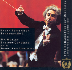 Mozart: Bassoon Concerto / Pettersson: Symphony No. 7