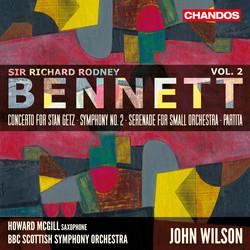 Bennett: Orchestral Works, Vol. 2