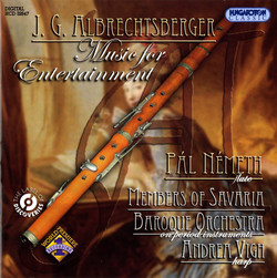 Albrechtsberger: Music for Entertainment with Flute