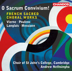 Vierne, Poulenc, Langlais & Messiaen: French Sacred Choral Works