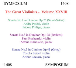 The Great Violinists, Vol. 28