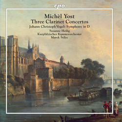 Yost: Clarinet Concertos - Vogel: Symphony No. 1 in D Major
