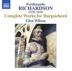 Richardson: Complete Works for Harpsichord