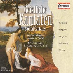 Donizetti, G.: Parafrasi Del Christus / Pergolesi, G.B.: Salve Regina in C Minor / Bonporti, F.A.: Mittite Dulces / Telemann, G.P.: Was Ist Das Herz?