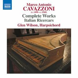 Cavazzoni: Complete Works
