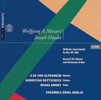 Mozart: Sinfonia concertante / Haydn: Piano Concerto D major