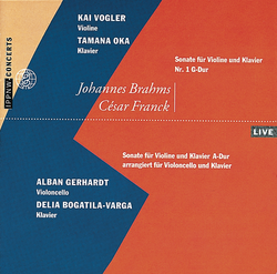 Brahms: Sonata for Violin and Piano No.1 Op. 78 / Franck: Sonata for Violin and Piano arr. for Cello and Piano