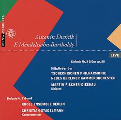 Dvořák: Symphony No.8 / Mendelssohn-Bartholdy: Symphony No.7