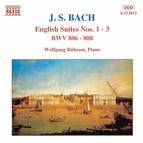 Bach, J.S.: English Suites Nos. 1-3, BWW 806-808