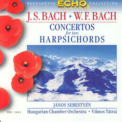 Bach, J.S:Concertos for 2 Harpsichords / Bach, W.F.: Harpichord Concerto in F Major