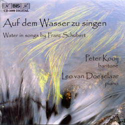 Water in songs by Franz Schubert