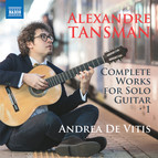 Tansman: Complete Works for Solo Guitar