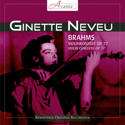 Brahms: Violin Concerto in D major, Op. 77 (1948)