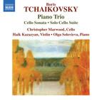 B. Tchaikovsky: Piano Trio, Cello Sonata & Solo Cello Suite