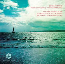 Britten: Violin Concerto & 4 Sea Interludes