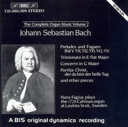 J.S. Bach - Complete Organ Music, Vol.2