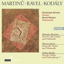 Martinů - Ravel - Kodály