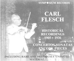 Carl Flesch (1905-1944)