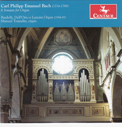 C.P.E. Bach: 6 Sonatas for Organ