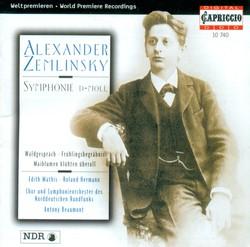 Zemlinsky: Symphony No. 1 / Fruhlingsbegrabnis / Waldgesprach / Maiblumen Bluhten Uberall