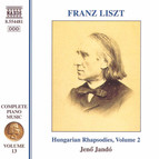 Liszt: Hungarian Rhapsodies, Vol. 2