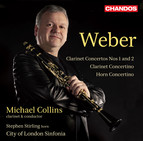 Weber: Concertante Works for Clarinet and Horn