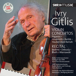 Original SWR Tapes Remastered: Ivry Gitlis (1962-1986)