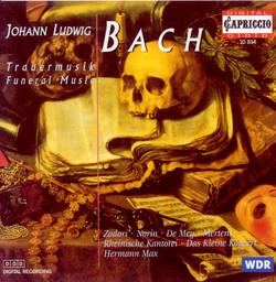 Bach, J.L.: Funeral Music